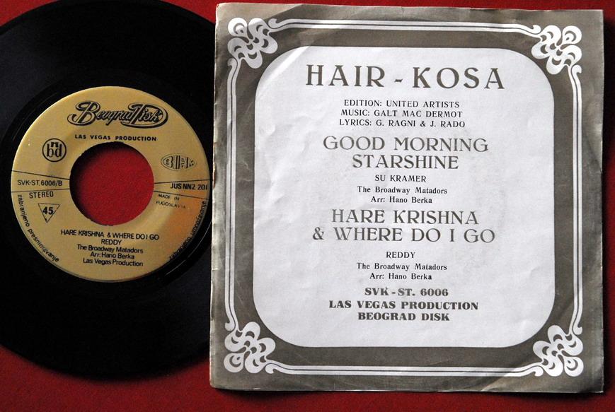 Good Morning Starshine From Hair : Hair good morning starshine hare krishna sexy cover